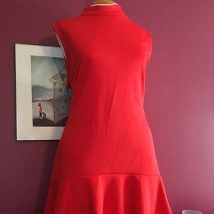 My all time fav drop waist orange dress!